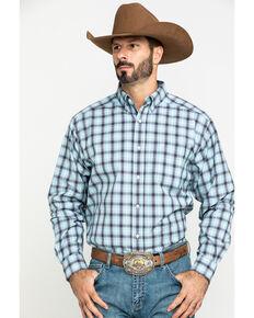Ariat Men's Lathrop Multi Plaid Long Sleeve Western Shirt - Tall , Multi, hi-res