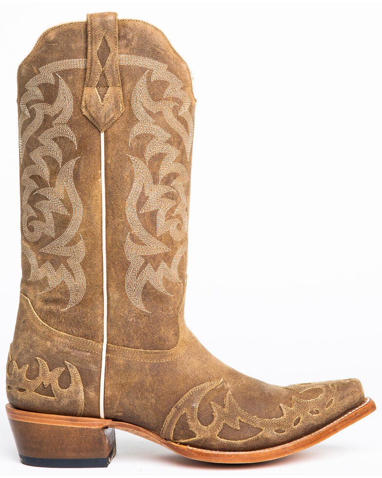 Moonshine Spirit Men's Truss Western Boots - Snip Toe, Tan, hi-res