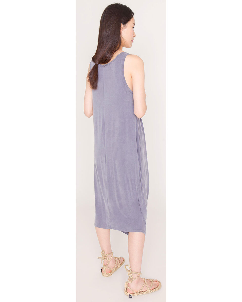 Friday's Project Women's Grey Scoop Neck  Dress , Dark Grey, hi-res