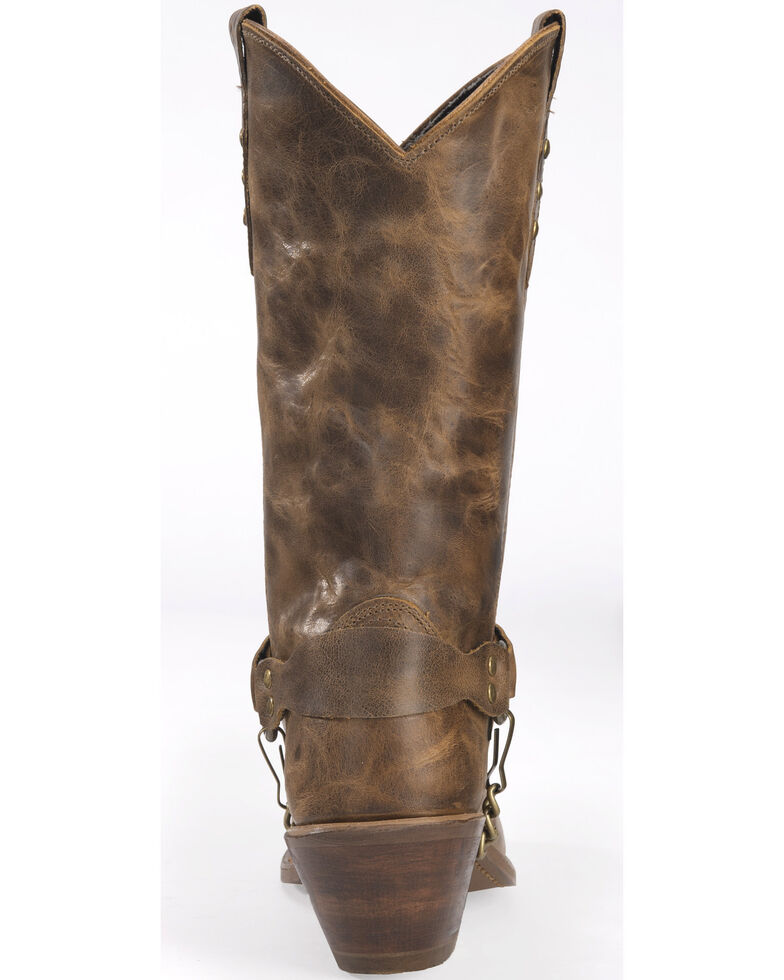 """Sage Boots by Abilene Women's 11"""" Concho Western Boots, Tan, hi-res"""