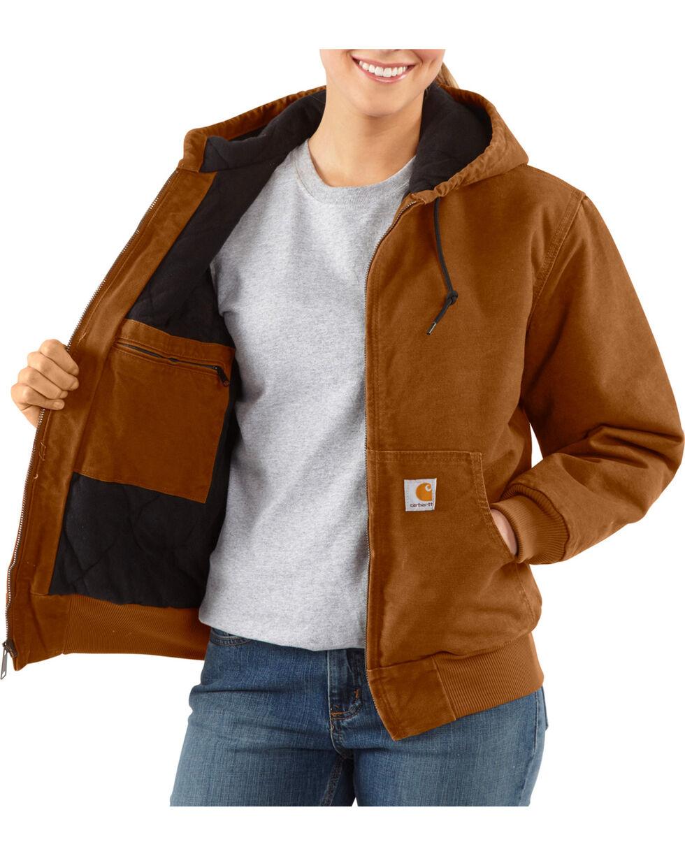 Carhartt Women's Sandstone Active Jacket, Brown, hi-res