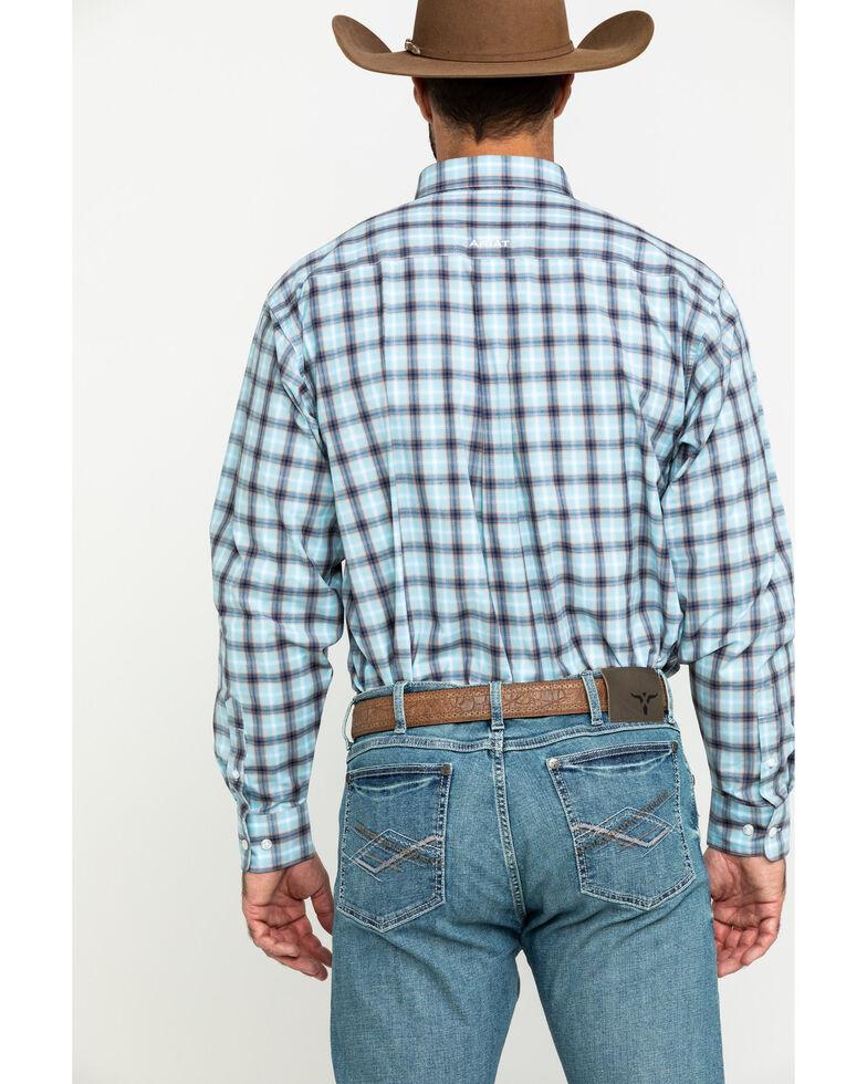 Ariat Men's Lathrop Multi Plaid Long Sleeve Western Shirt , Multi, hi-res