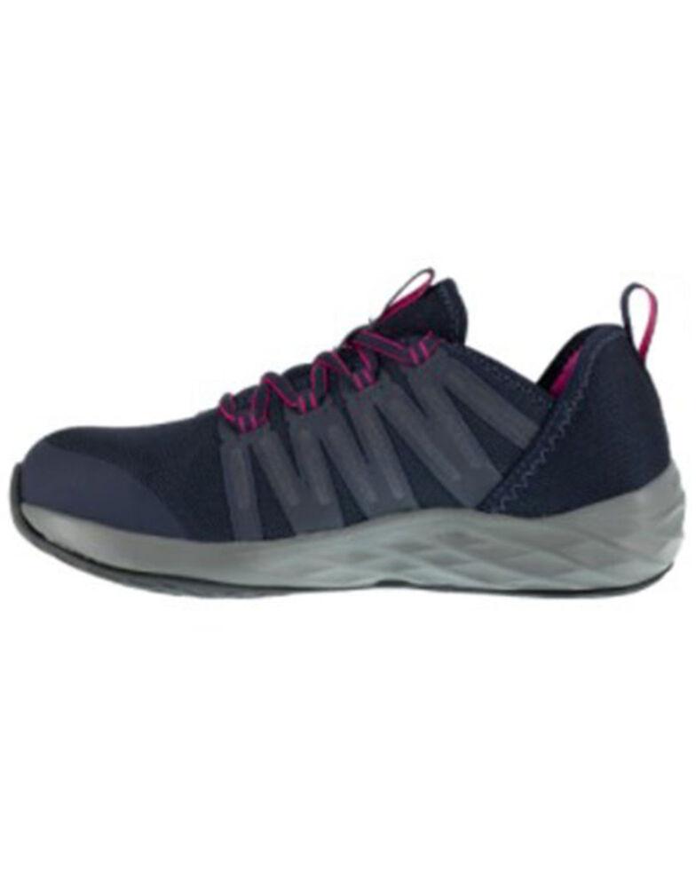 Reebok Women's Astroride Work Shoes - Steel Toe, Navy, hi-res