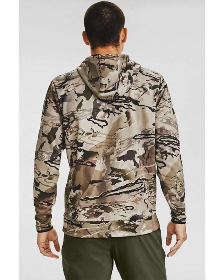 Under Armour Men's Barren Camo Hooded Work Sweatshirt , Camouflage, hi-res