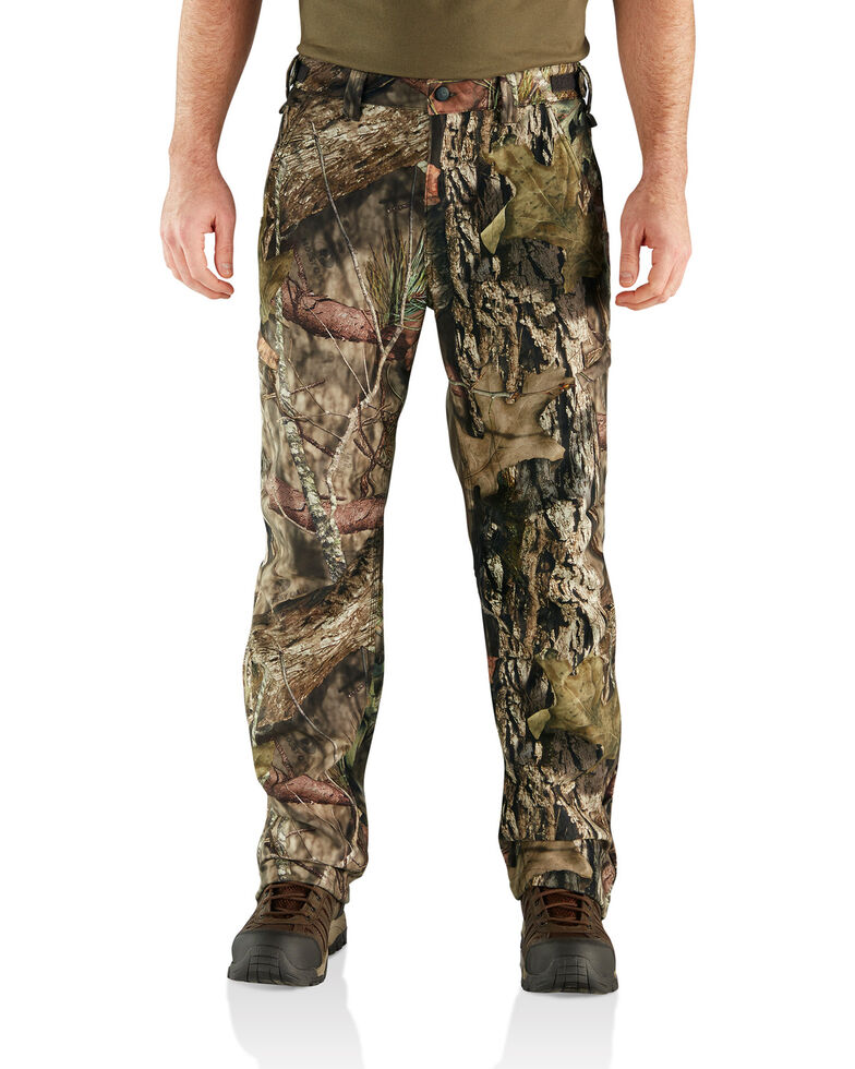 Carhartt Men's Camo Buckfield Work Pants - Big & Tall , Camouflage, hi-res