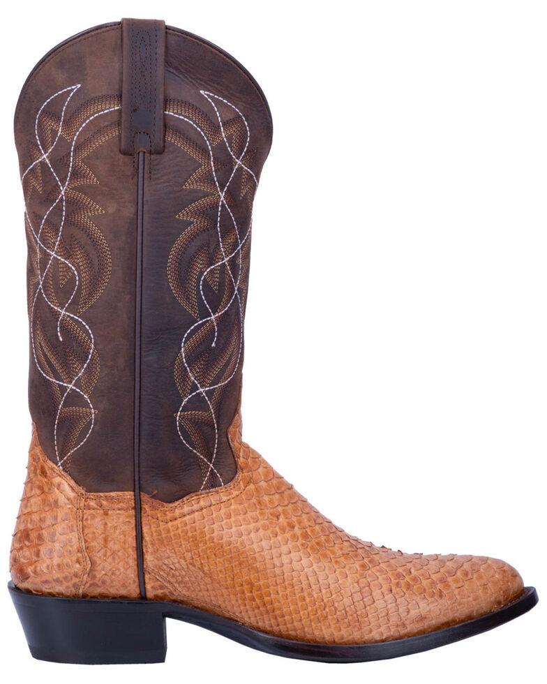 Dan Post Men's Manning Western Boots - Medium Toe, Honey, hi-res