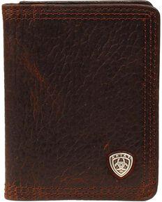 ad0cb1ac81ff1 Ariat Logo Concho Bi-fold Wallet