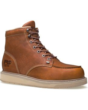Timberland Pro Men's Barstow Safety Toe Wedge, Rust, hi-res