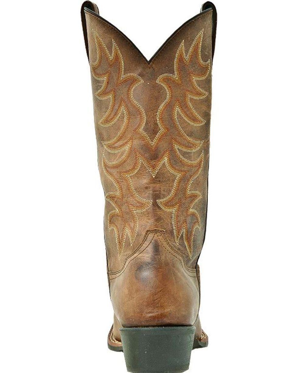 Laredo Men's Square Toe Piomosa Western Boots, Tan, hi-res