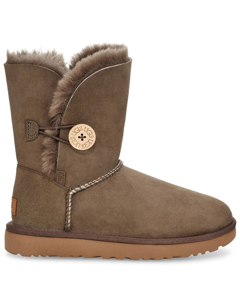UGG Women's Bailey Button II Boots, Brown, hi-res