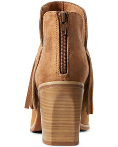 Ariat Women's Unbridled Jaxon Fashion Booties - Round Toe, Brown, hi-res