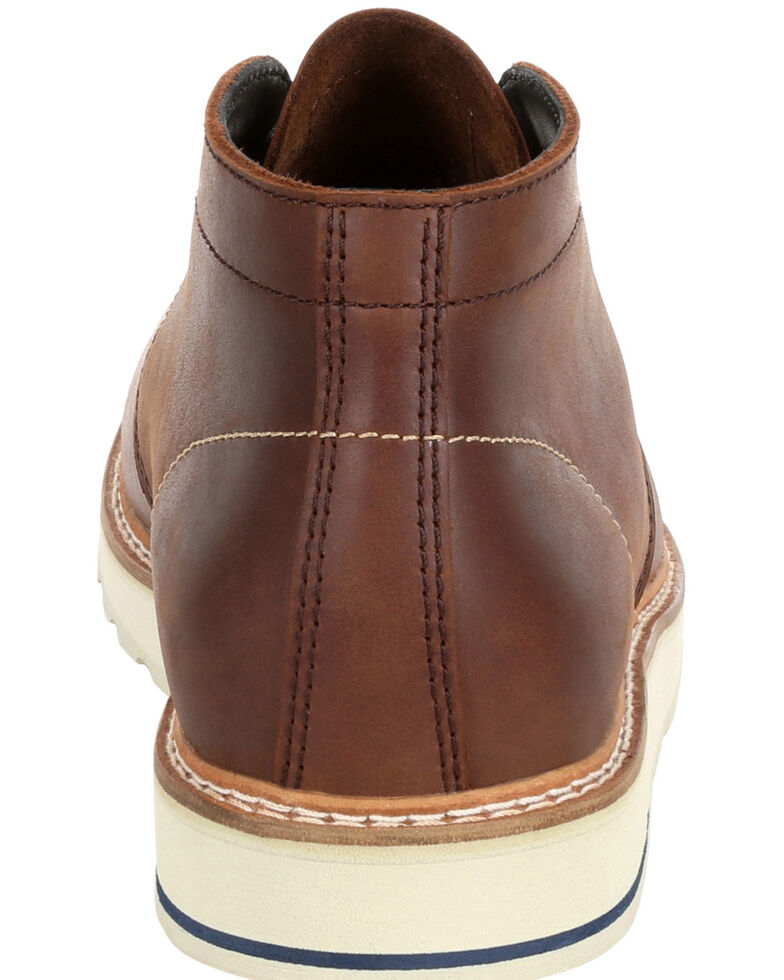 Georgia Boot Men's Small Batch Brown Chukka Boots - Round Toe, Brown, hi-res