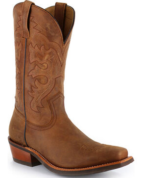 Cody James® Men's Crazy Horse Western Boots, Brown, hi-res
