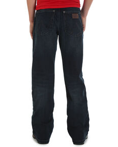 Wrangler Retro Boys' (1T-7) Oakdale Relaxed Boot Cut Jeans , Indigo, hi-res