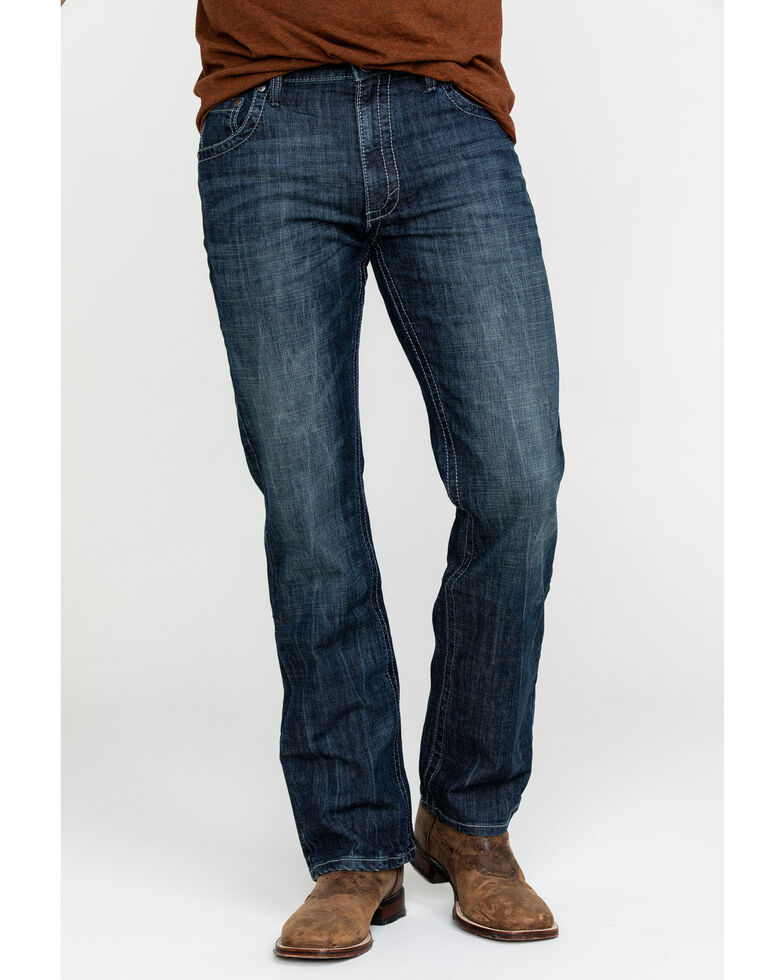 Wrangler 20X Men's No. 42 Kingston Vintage Slim Bootcut Jeans - Long , Indigo, hi-res