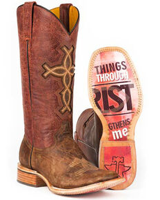 d7ead94d9927 Tin Haul I Believe Cowgirl Boots - Square Toe