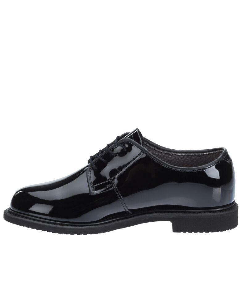 Bates Women's Lites Black High Gloss Oxford Shoes - Round Toe, Black, hi-res