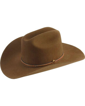 Stetson Powder River 4X Buffalo Fur Felt Hat, Mink, hi-res
