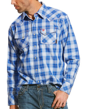 Ariat Men's FR Simeon Retro Work Shirt, Multi, hi-res