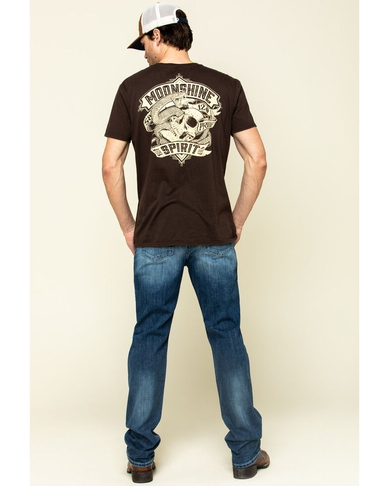 Cinch Men's Silver Label Performance Slim Straight Jeans , Indigo, hi-res