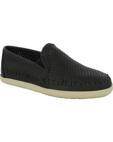 Minnetonka Women's Pacific Slip-On Shoes, Black, hi-res
