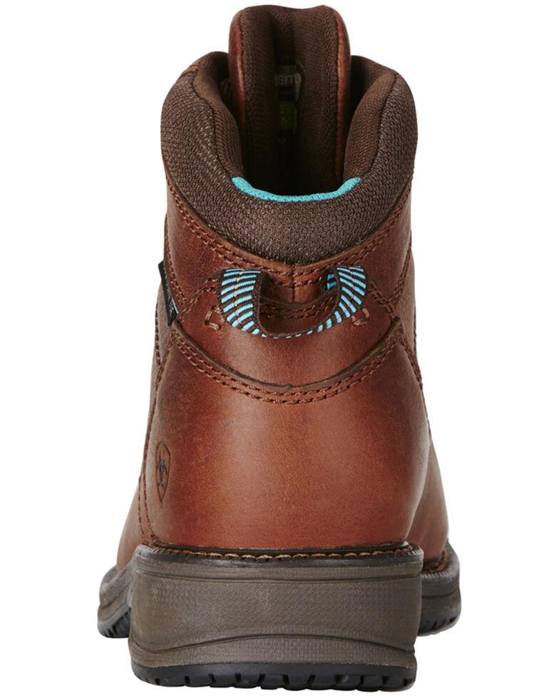 Ariat Women's Composite Toe Work Boots, Brown, hi-res