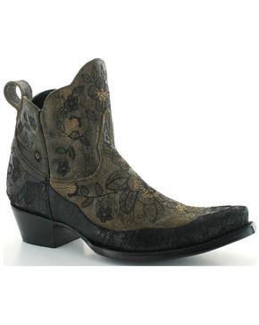Old Gringo Women's Bonnie Short Boots - Snip Toe , Black, hi-res