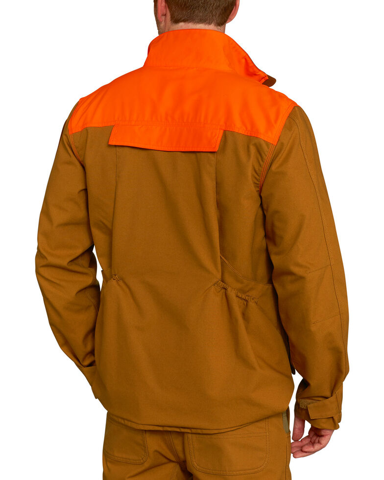 Carhartt Men's Upland Field Work Jacket, Pecan, hi-res