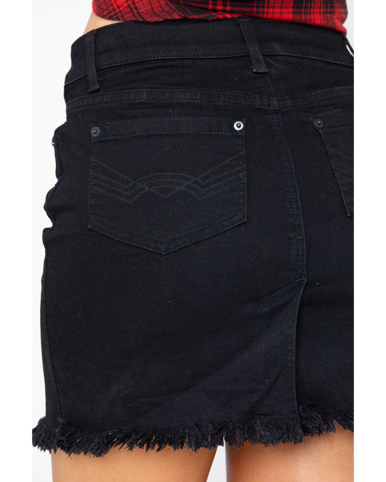 Idyllwind Women's Star Studded Denim Skirt , Black, hi-res
