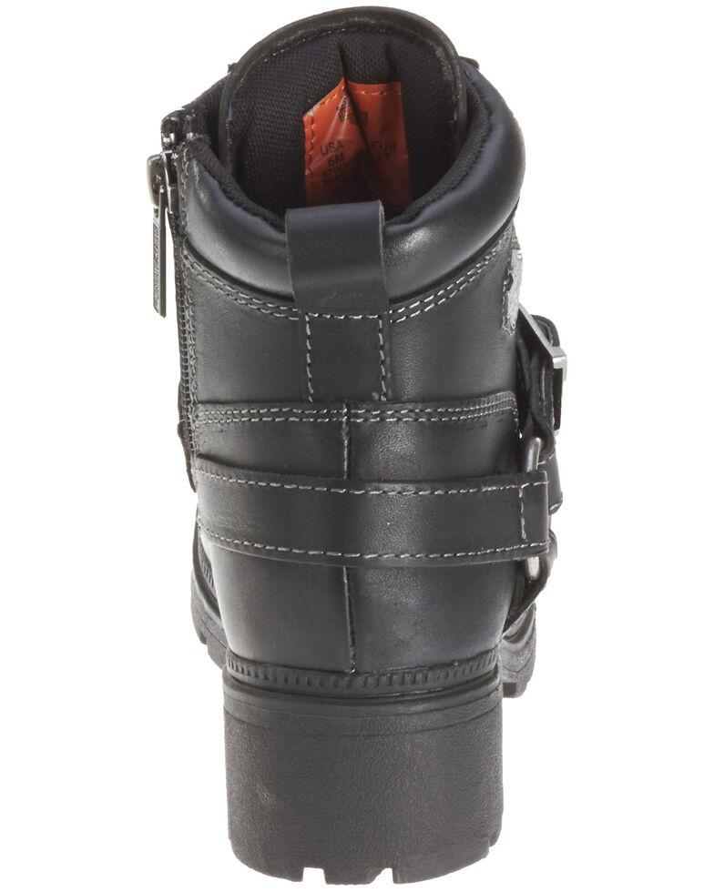 Harley Davidson Women's Tegan Motorcycle Boot, Black, hi-res