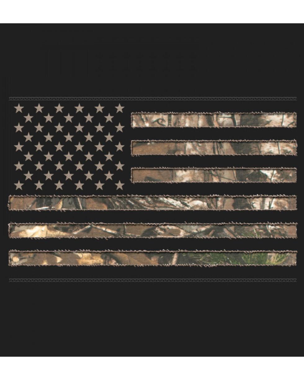 Buck Wear Men's Real Tree Stars and Stripes Hoodie, , hi-res