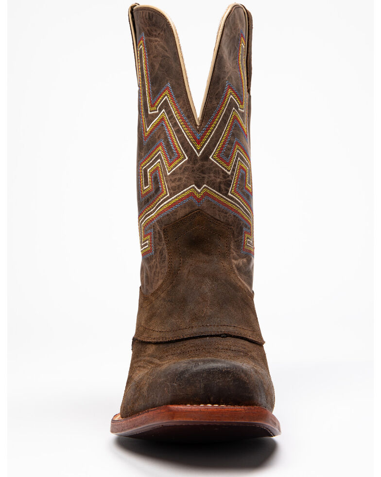 Cody James Men's Chivalrous Chocoloate Western Boots - Narrow Square Toe, Chocolate, hi-res