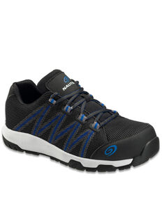 Nautilus Men's Accelerator Work Shoes - Composite Toe, Black, hi-res