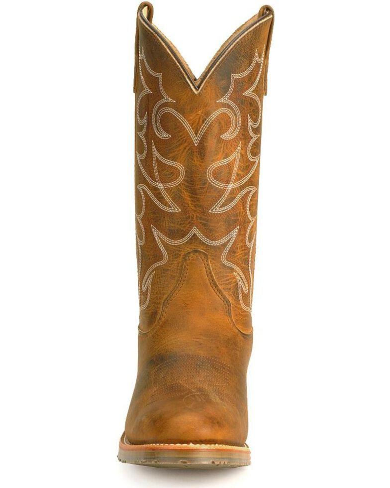 970a80e88ca Double-H Men's Gel ICE Steel Toe Western Work Boots