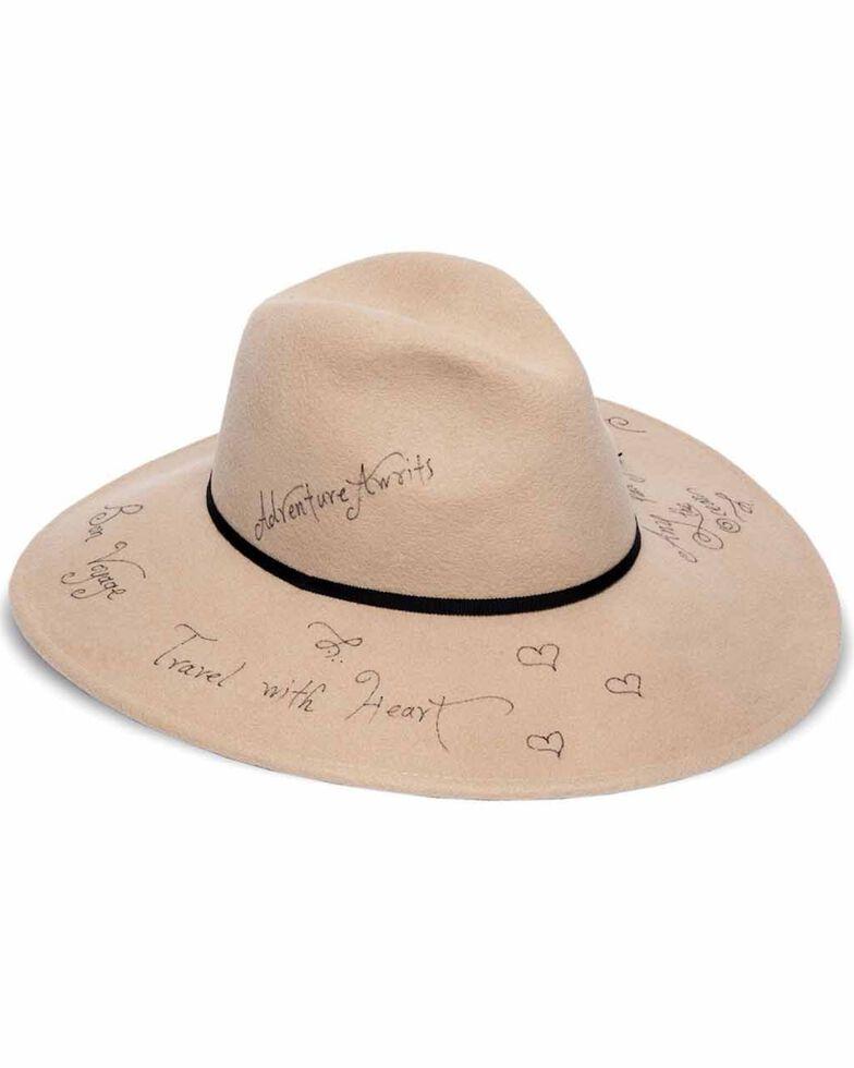 'ale by Alessandra Women's Traveler Wool Hat, Cream, hi-res