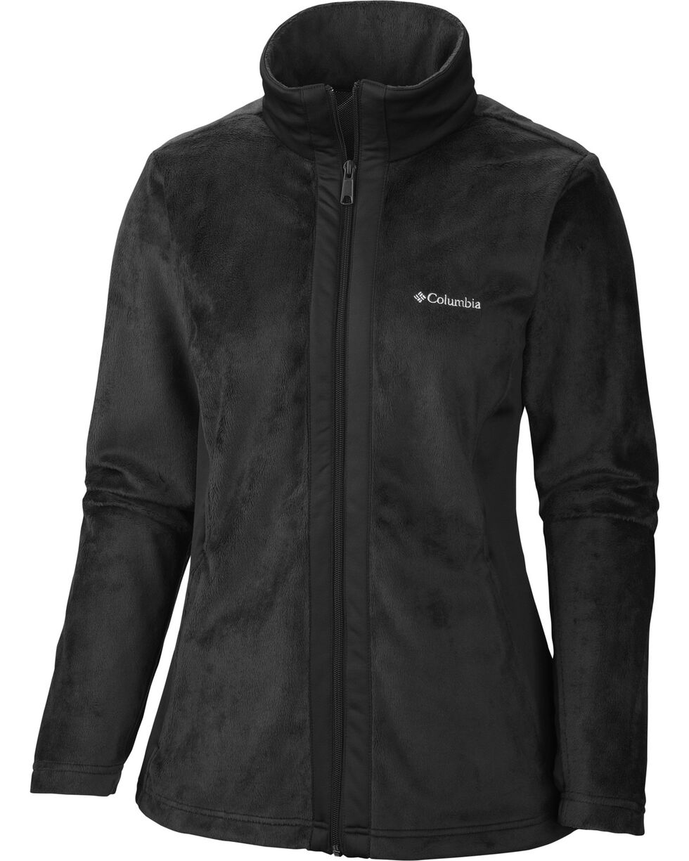 Columbia Women's Hotdots II Full Zip Fleece Jacket, Black, hi-res