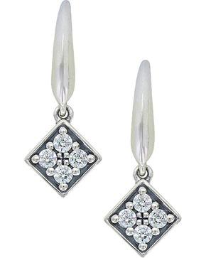 Sterling Lane Women's Twinkling Starlight Core Earrings , Silver, hi-res