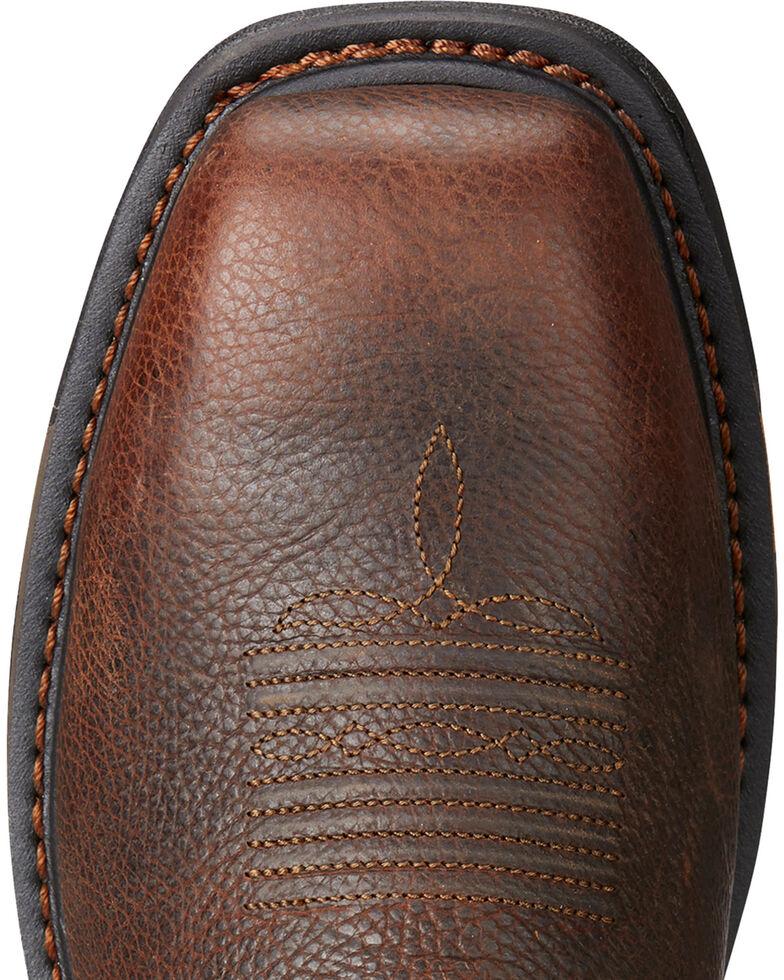 Ariat Men's Workhog VentTEK Matrix Boots - Composite Toe, Brown, hi-res