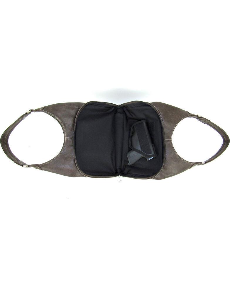 Savana Women's Fierce Tooled Design Conceal Carry Purse , Hot Pink, hi-res