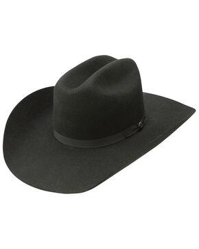 Resistol Men's Hooey Maverick 4x Wool Felt Cowboy Hat, Black, hi-res