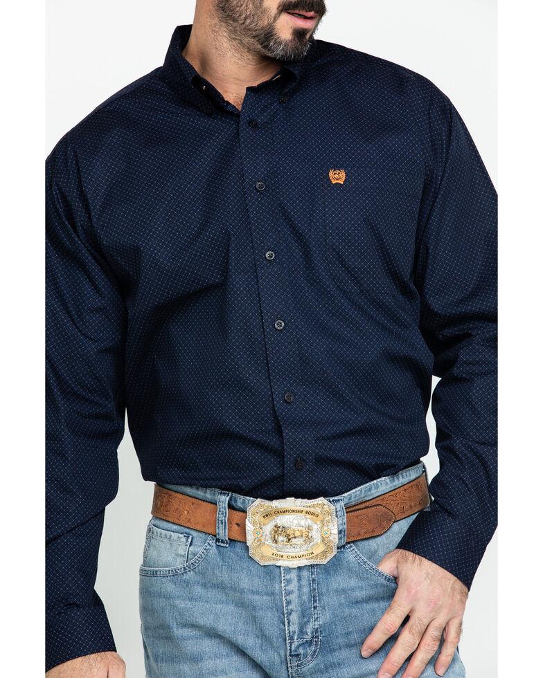 Cinch Men's Multi Dot Geo Print Long Sleeve Western Shirt - Big , Multi, hi-res