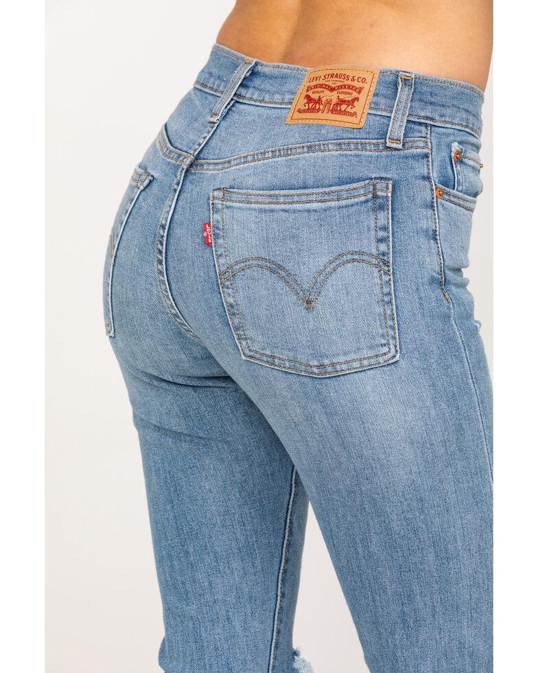 Levi's Women's Wedgie Skinny Jeans, Blue, hi-res