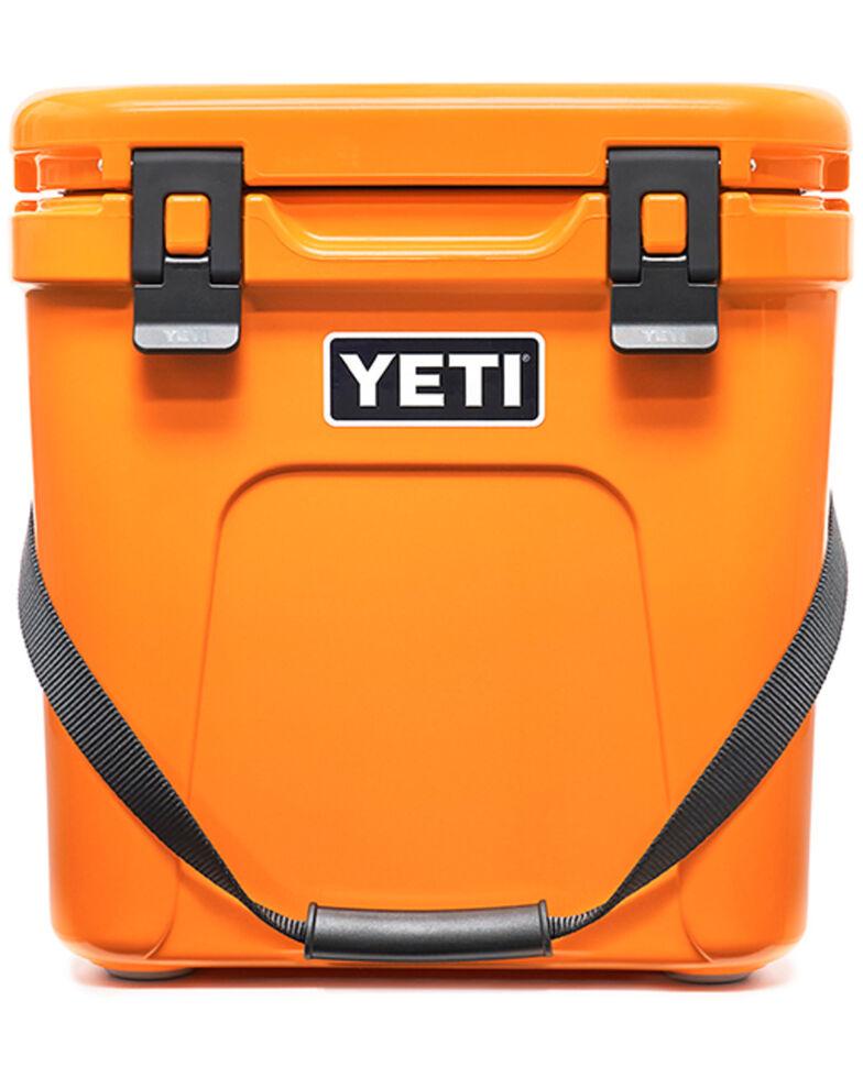 Yeti Roadie 24 King Crab Hard Cooler, Orange, hi-res