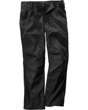 Timberland Pro Men's Black GridFlex Canvas Work Pants , Black, hi-res