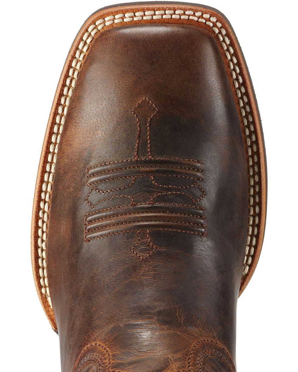 Ariat Men's Tombstone Western Boots, Chestnut, hi-res