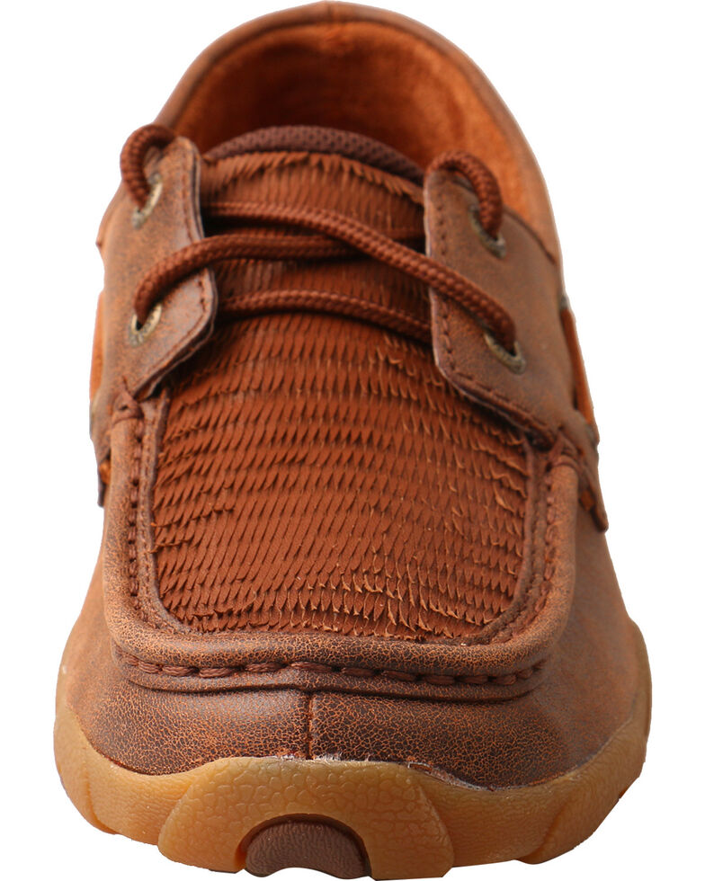 Twisted X Women's Layered fringe Driving Moc Shoes, , hi-res