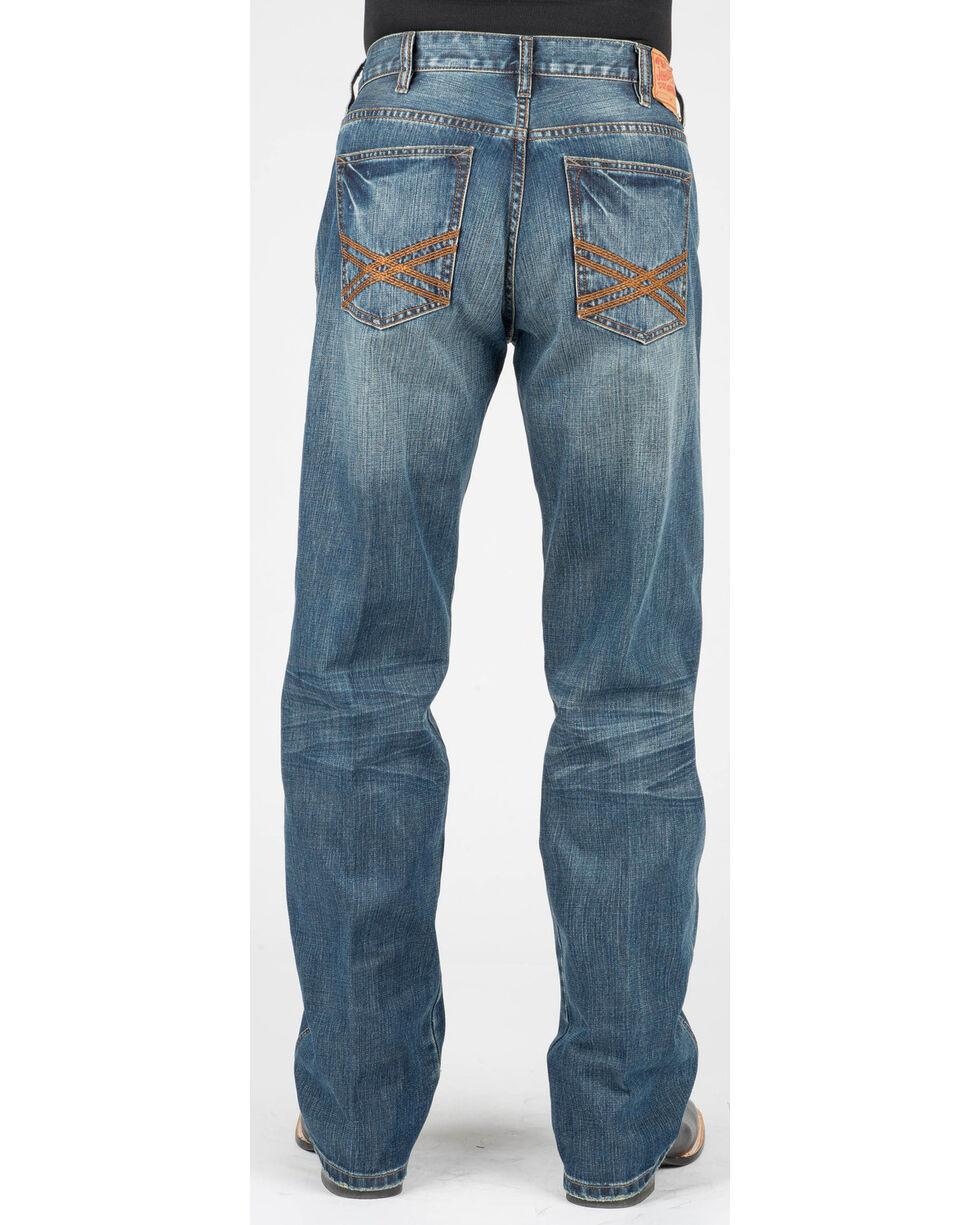 Stetson Men's Modern Fit Jeans - Boot Cut, Blue, hi-res