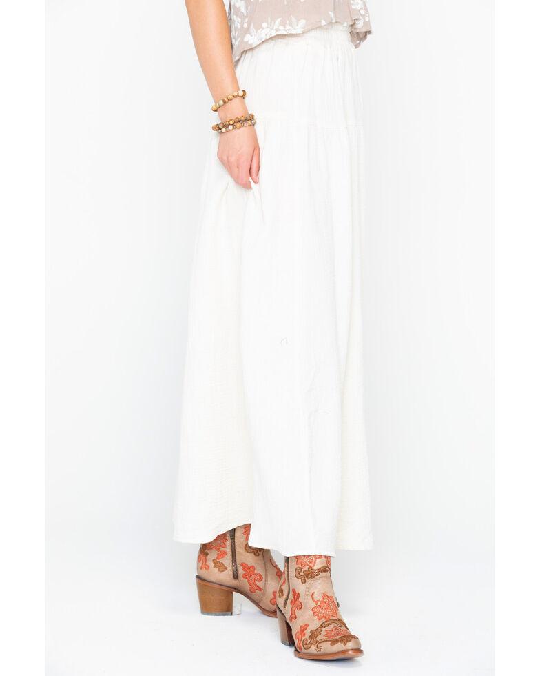 Sadie & Sage Women's Juliet Maxi Skirt, Natural, hi-res