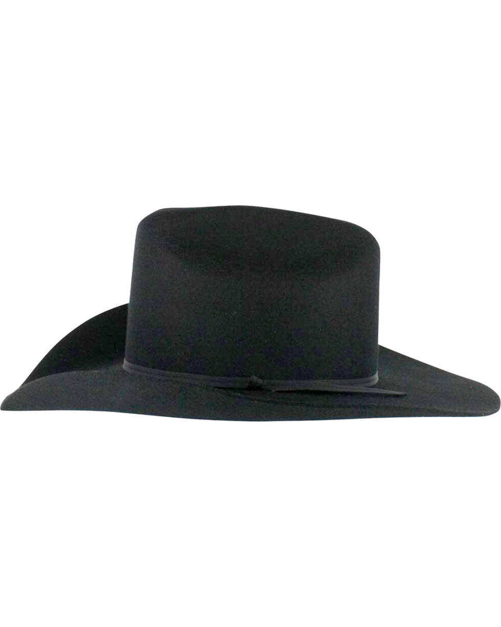 Cody James® Men's Denver Men's 2X Felt Cowboy Hat, Black, hi-res