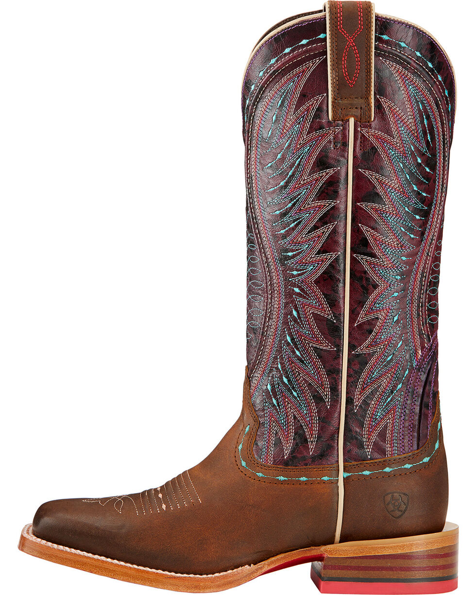 Ariat Women's Vaquera Square Toe Western Boots